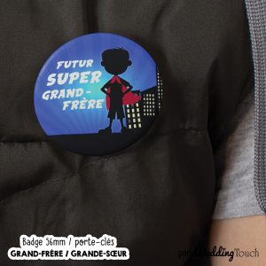 badge grande soeur grand frere