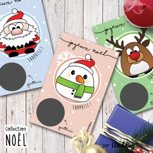 annonce grossesse minis cartes noel 4