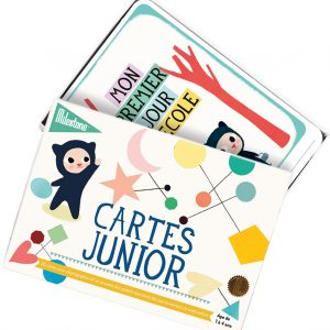 cartes junior milestone
